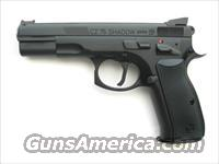 CZ 75 Shadow Custom Shop Tuned 9mm FO Comp 91711 *NEW*
