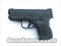 Springfield XDS 9mm Compact Black *NEW* XDS9339BE