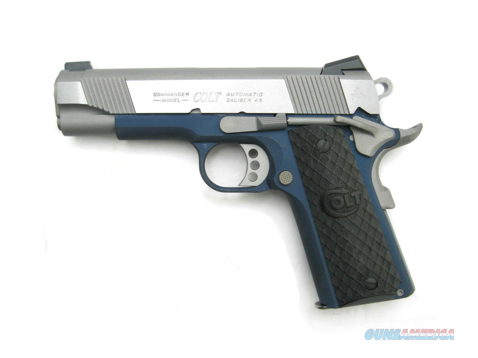 Colt LW Commander .45 acp Blue Frame Talo 1 of ... for sale