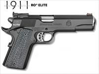 Springfield 1911 RO Elite Target .45 acp FO G10 PI9128ER *NEW* 4 Mags Gear Pkg