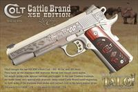 Colt 1911 Cattle Brand XSE 9mm The Last Cowboy Talo Limited Edition O1092XSE-CB *NEW*