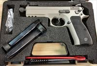 CZ 75 SP-01 9mm Tactical Urban Grey Suppressor Ready Threaded Barrel Night Sights 91253 *NIB*