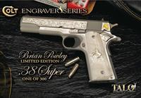 COLT LIMITED EDITION TALO .38 Super Engraved 1 of 300 *NEW* O2091LTD