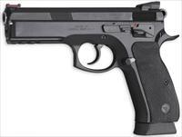 CZ 75 SP-01 Shadow CUSTOM Competition 9mm FO Ext Controls 85 Combat Features 3-18 Rd Mags *NEW* 91154