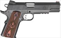 Springfield Operator Range Officer 9mm 1911 *NEW* Rail Fiber Optic *PLUS - 6 Mags, Holster & Mag Pouch