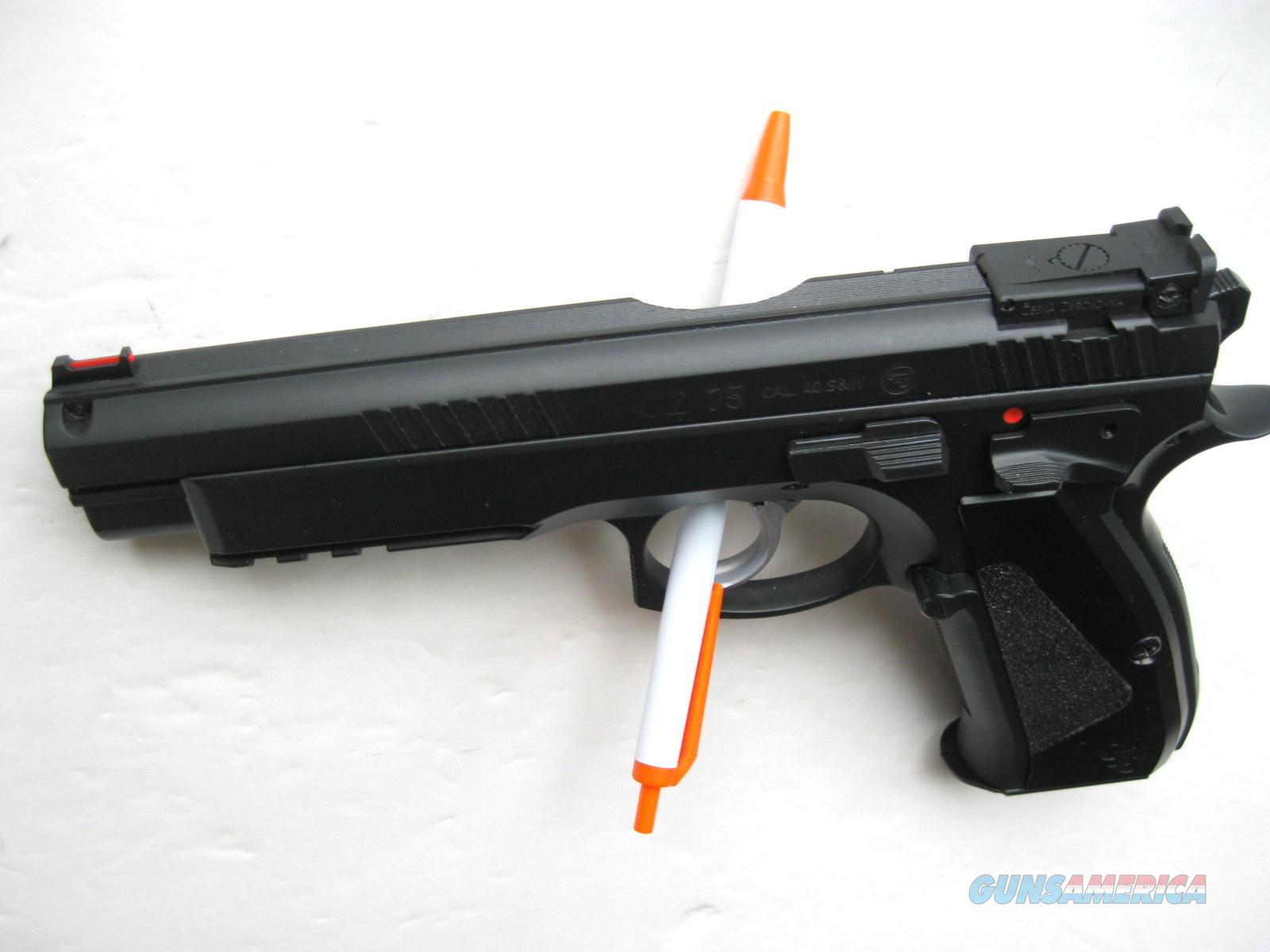 CZ Custom SP-01 TS Longslide 40 S&W Tactical Sport SRTS sku 91716 *NEW*