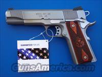 "Springfield Loaded 1911 Stainless 45 acp 5"" PX9151L  *NIB* PLUS - 4 Extra Mags, Holster and Mag Pouch"