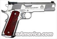 Springfield Trophy Match 45 Stainless 1911 *NEW*
