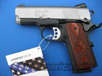 Springfield EMP Bitone 9mm *NEW* 1911 Compact  PI9209LP  Gear Pkg PLUS - 4 Extra Mags, Holster and Mag Pouch