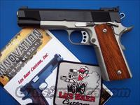 Les Baer Concept III .45 acp 1911 Two Tone Blue Stainless *NIB*