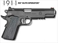 "Springfield 1911 RO Elite Operator 9mm 5"" Rail PI9130ER *NEW*"