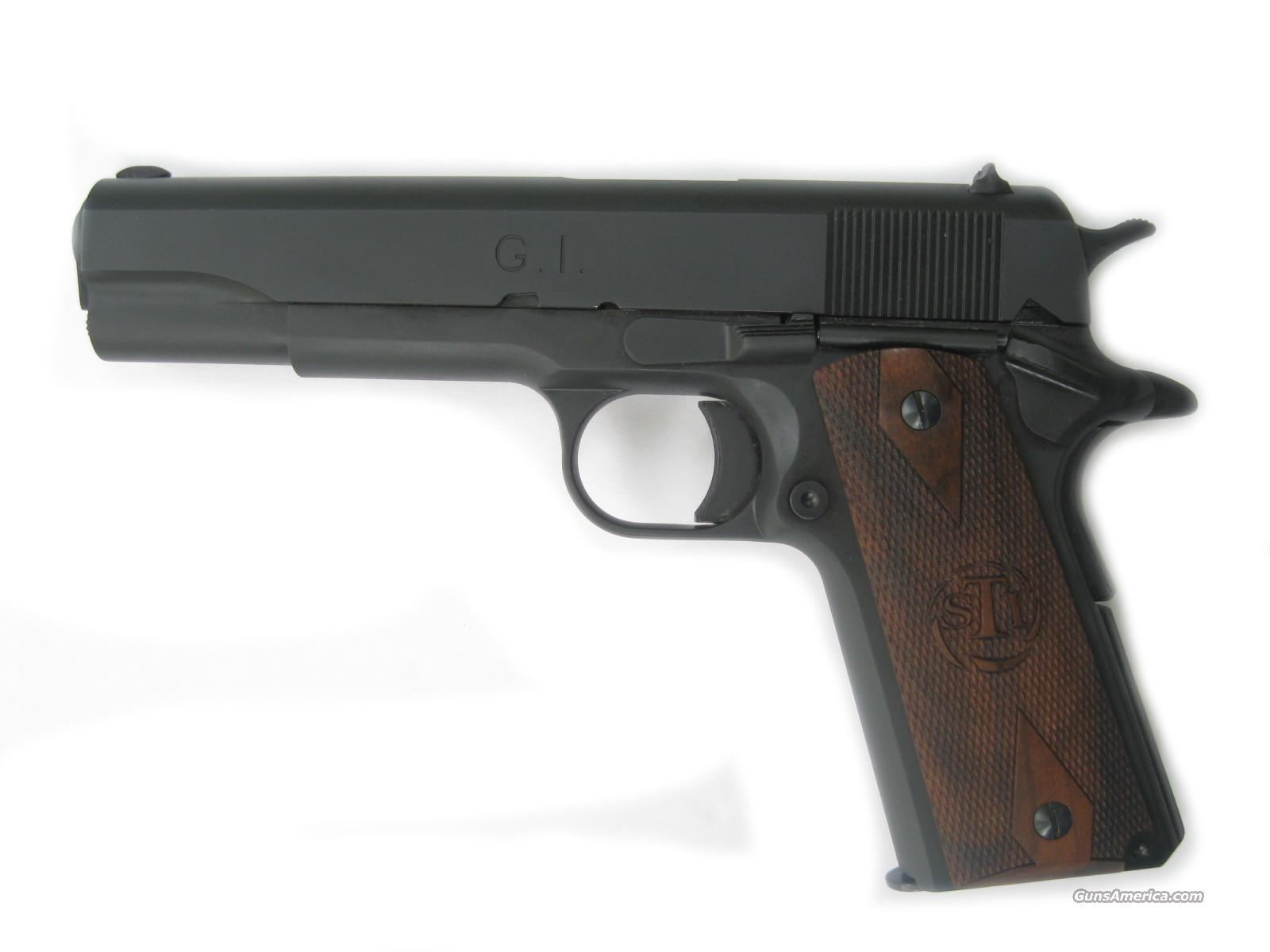 STI G.I. 45 Acp Classic Governement 1911 *NEW* ... For Sale