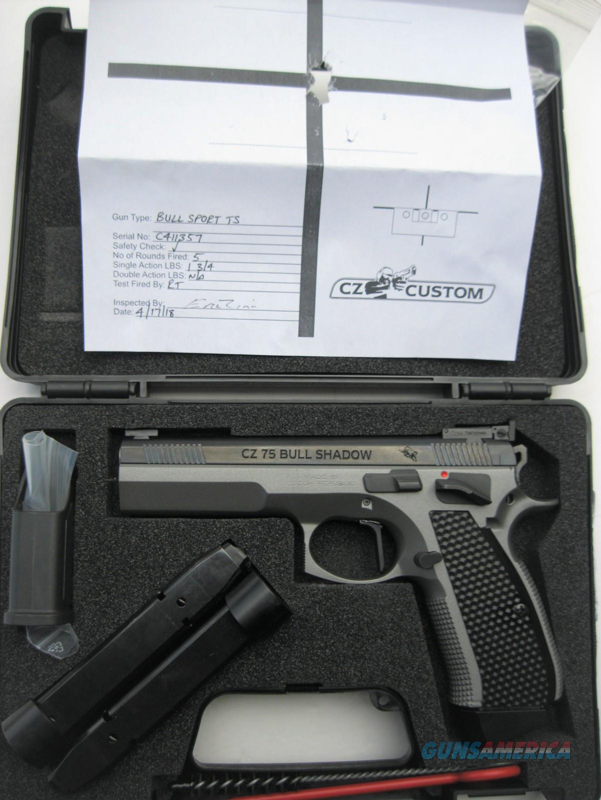 CZ 75 Bull Shadow Sport TS 9mm CZC Custom Tactical Sport 91732 *NEW*