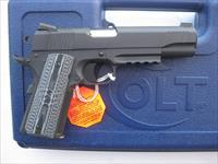 Colt Combat Unit Rail Gun 9mm 1911 Novak NS G10 Grips *NIB* 01072CCU