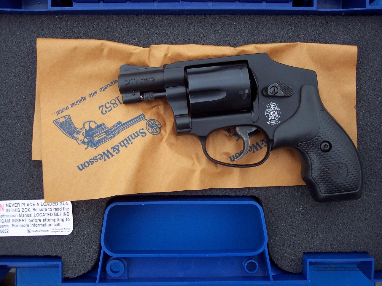 Smith & Wesson 442 No Lock Centennial Airweight 38 + P *NEW*