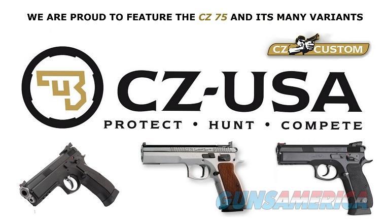 CZ Czechmate 9mm Custom Open / Limited C-More 4-Mags 26 Rd 91174 *NIB*