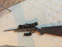 Savage A17 semi auto rifle .17HMR .17 with scope and extra magazines