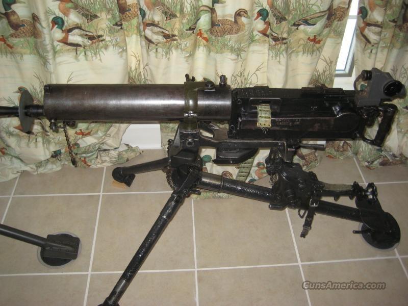 Maxim MG-08 Water Cooled Machine Gun