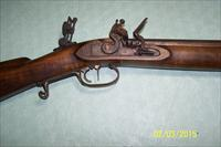 MUZZLE LOADING BENCH RIFLE with CUSTOM BARREL - shoots 50 caliber bullets - N