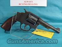 "SMITH & WESSON VICTORY MODEL  - ""US PROPERTY CHG""  - CAL. 38 S&W"