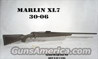 Marlin  XL-7 Bolt action rifle, Classic 30-06