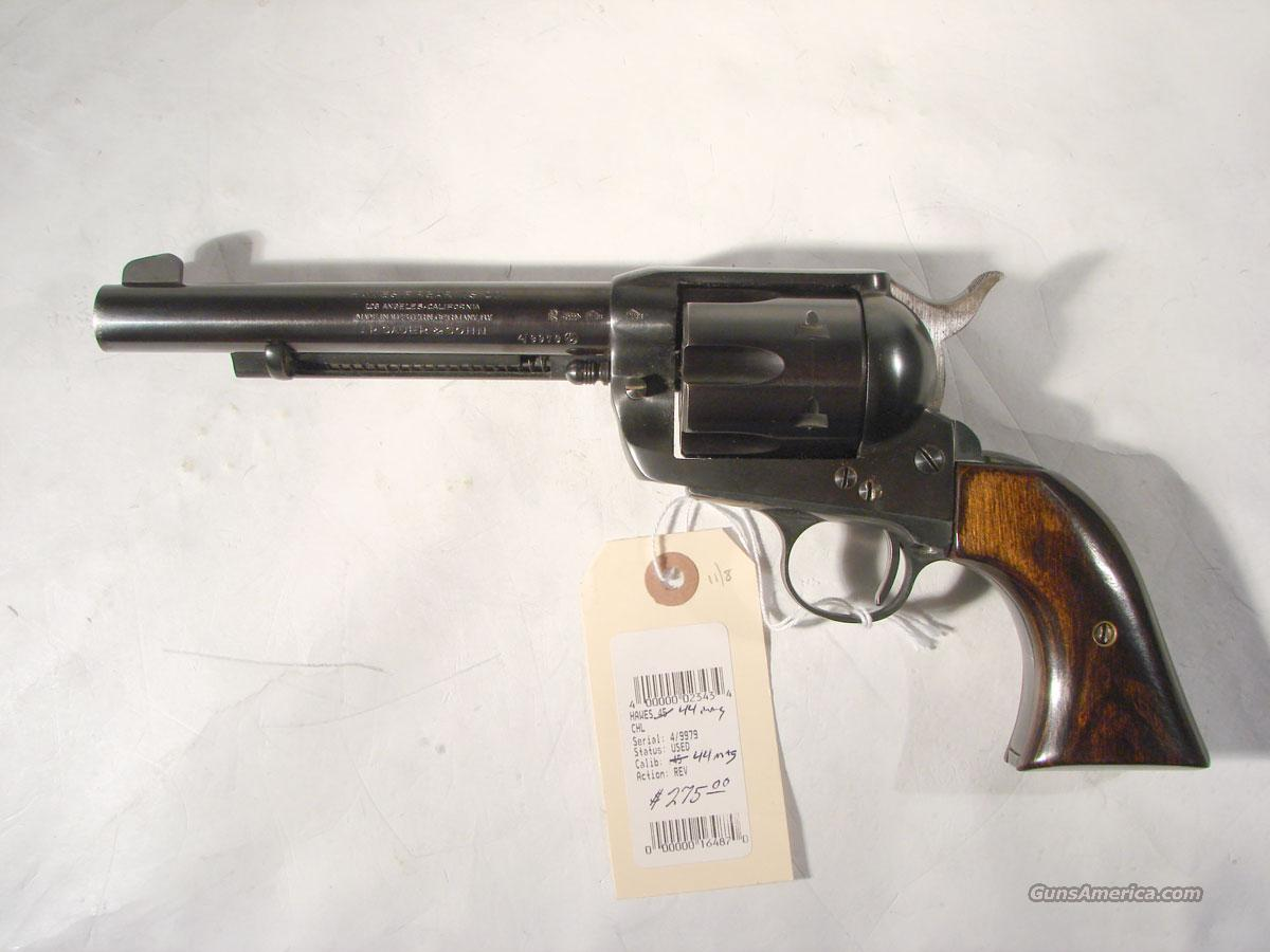 hawes quotwestern marshallquot 44 mag 7 12 inc cowb for sale