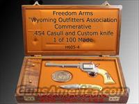 Freedom Arms .454 Limited Model 83 Large frame