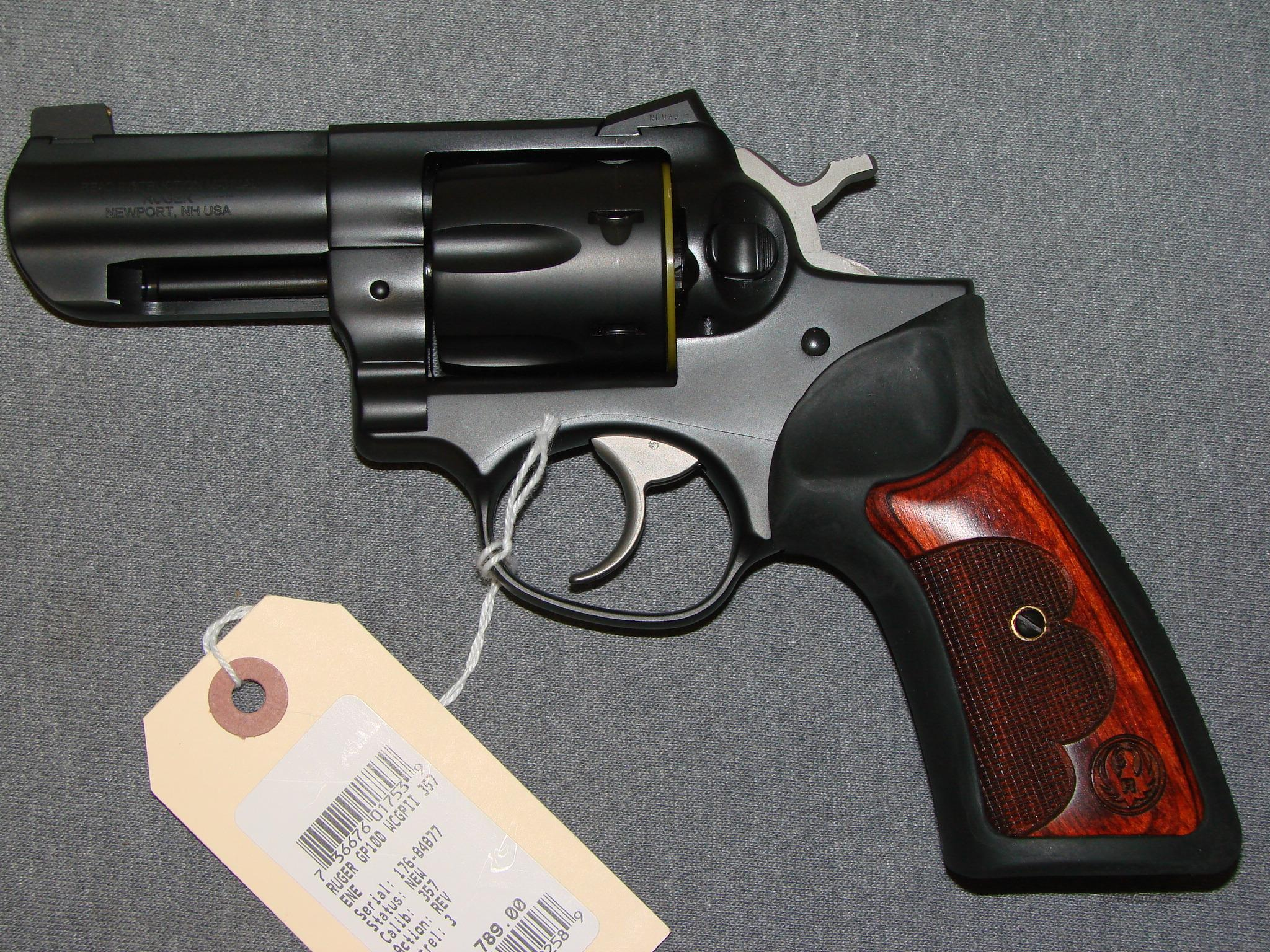 Ruger GP100 357mag Wiley Clapp