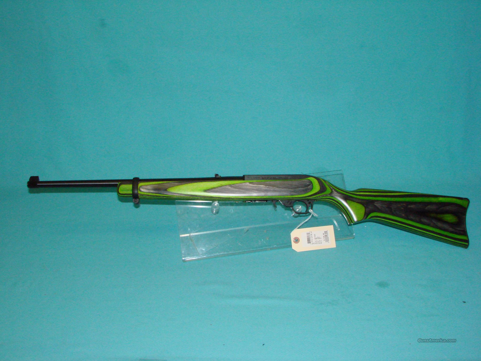 Ruger 10 22 Green Laminate For Sale