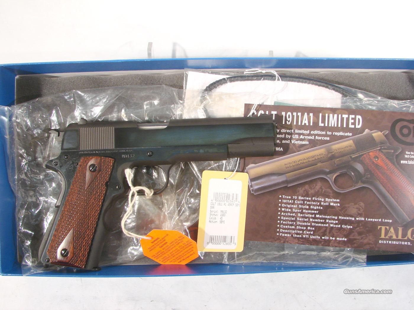 Colt 1911A1 Limited, As new