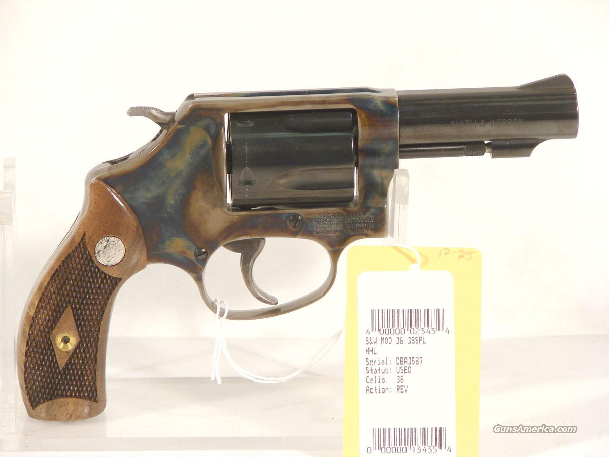 S&W Model 38 3 inch J-Frame As new condition for sale