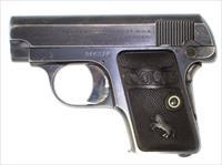 COLT 1908 25ACP MADE IN 1922