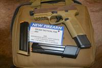 FN 509 Tactical FDE NEW W/2-24 Rd Mags & 1-17 Rd Mag!