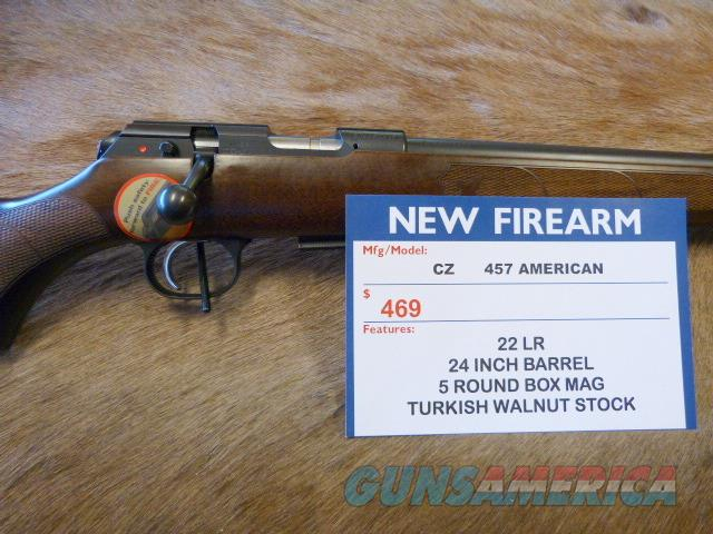 CZ 457 American 22LR NEW