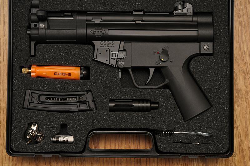 ATI GSG-5 HK MP5K Type Pistol 22LR Caliber