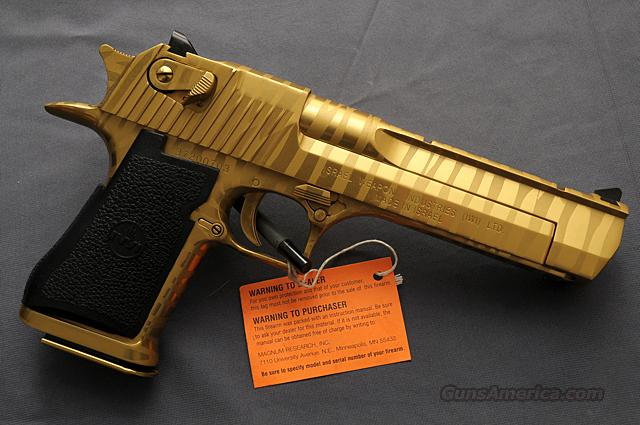 Desert Eagle Titanium Gold Tiger Stripe 50ae For Sale