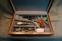 Colt 1862 Trapper 36Cal with factory wood case and accessories