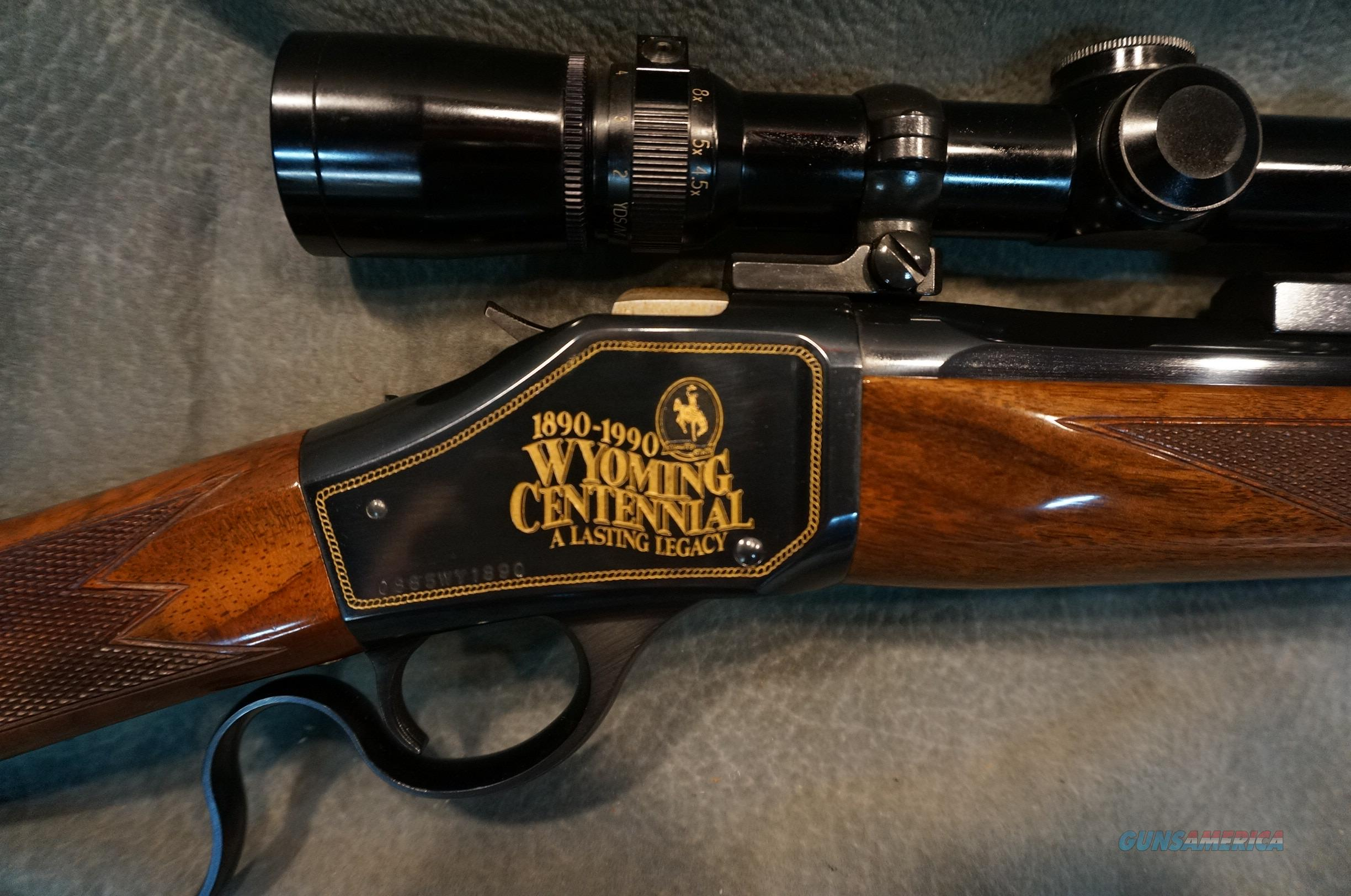 Browning 1885 25 06 Wyoming Centennial For Sale