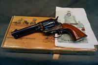 Uberti Old Model Cattleman 45 Colt Charcoal Blue/Casecolored 4 3/4""