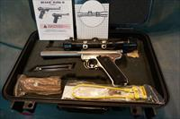 Ruger Mark II Competition Slabside 22LR w/scope