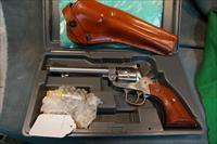 Ruger Stainless Single Six 22lr/22Mag LNIB with Galco holster