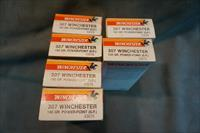 6 boxes of Winchester 307 Ammunition