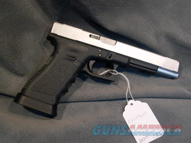 Glock Model 35 357Sig with Lone Wolf slide and barrel