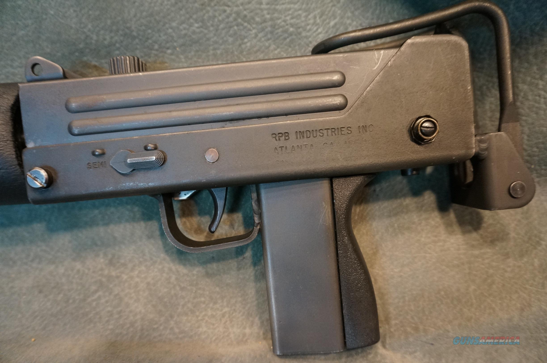 RPB Mac 10-A1 9mm full auto with suppressor ON SALE!!