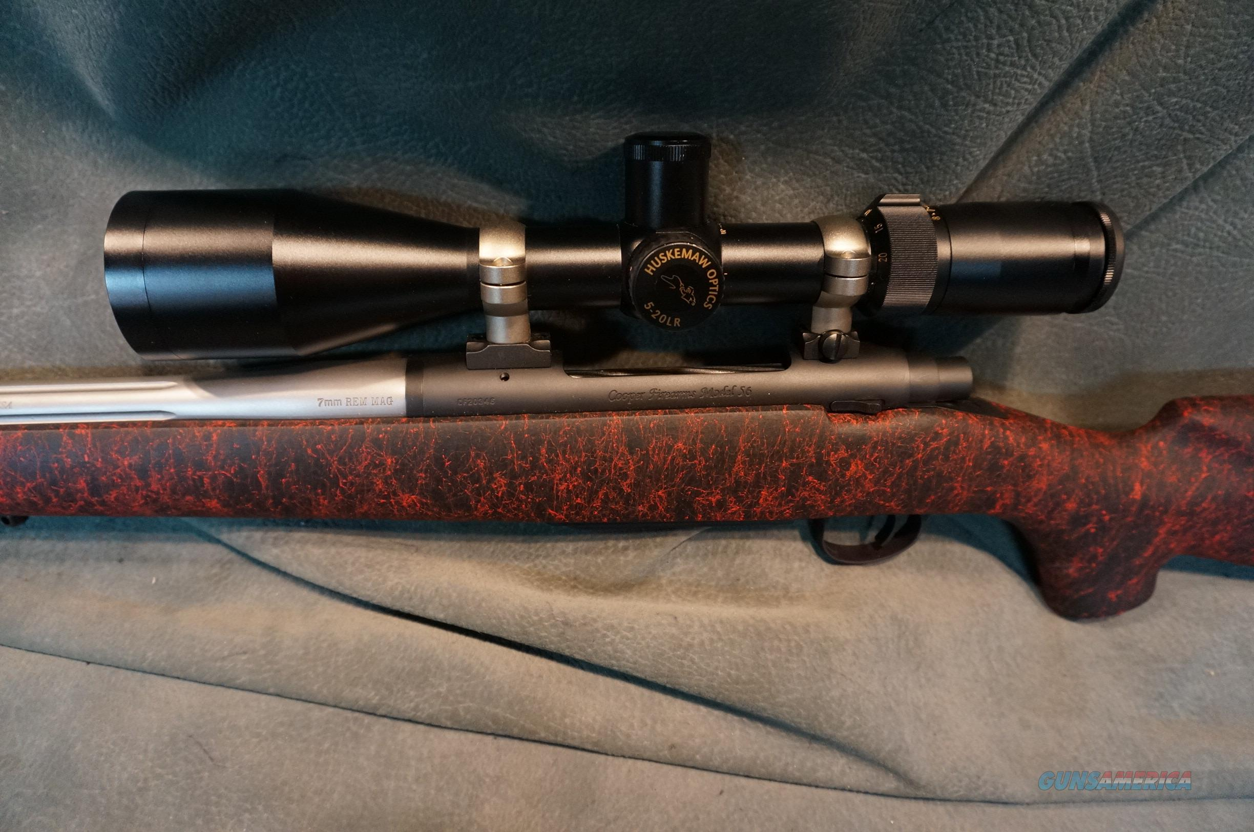 Cooper M56 Excaliber 7mmRemMag w/Huskemaw scope new unf...