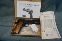 Colt WWI Commemorative Meuse Argonne 45ACP NIB, complete set available.