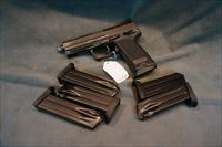 H+K USP Tactical LD 45ACP with 5 extra magazines