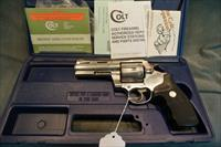 "Colt Anaconda 44Mag 4"" W/box and papers"