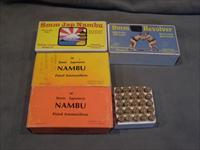 8mm Nambu and 9mm Japanese Ammo