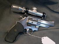 "S+W Model 629 4"" early model pinned and recessed 44Mag"